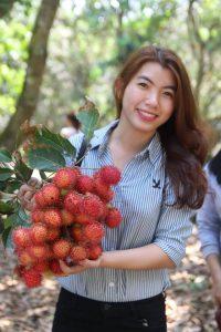 Tham Quan vườn trái cây tại khánh sơn